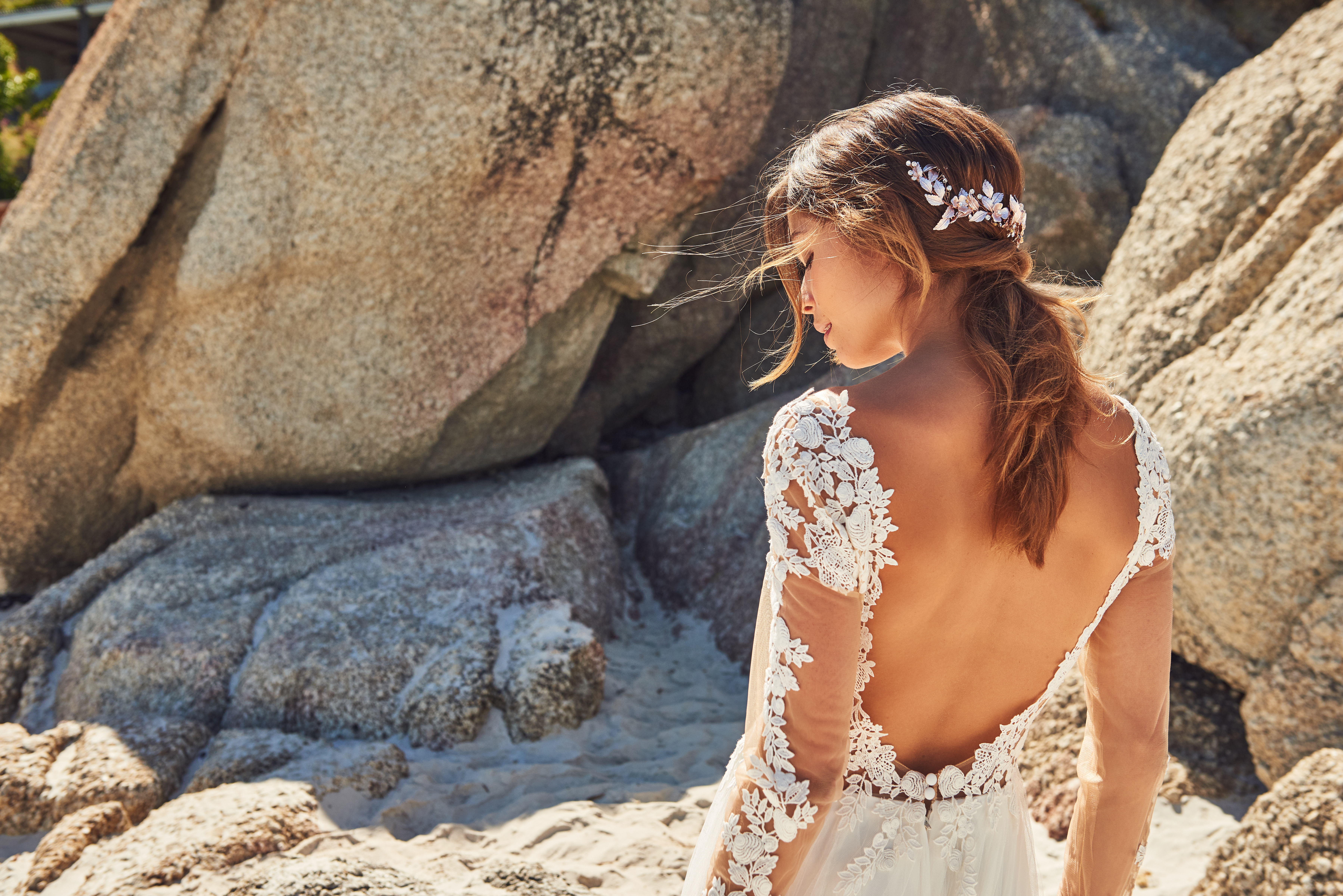 Hair jewelry for the Bride to be