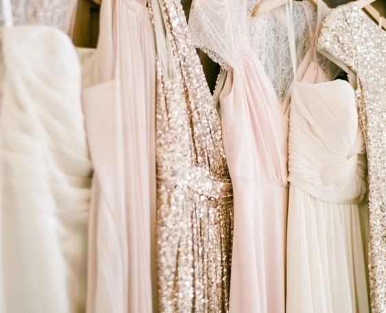 Trend! Pink & Gold Wedding