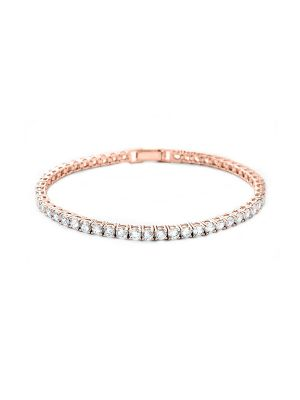 Crystal Bracelet | Rose Gold