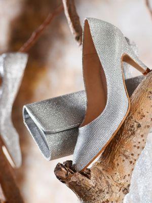 Jamila | Silver Glitter
