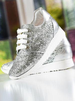 Lizzi | Silver Glitter