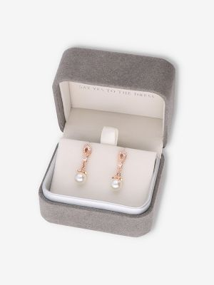 Alice Earrings | Rose Gold